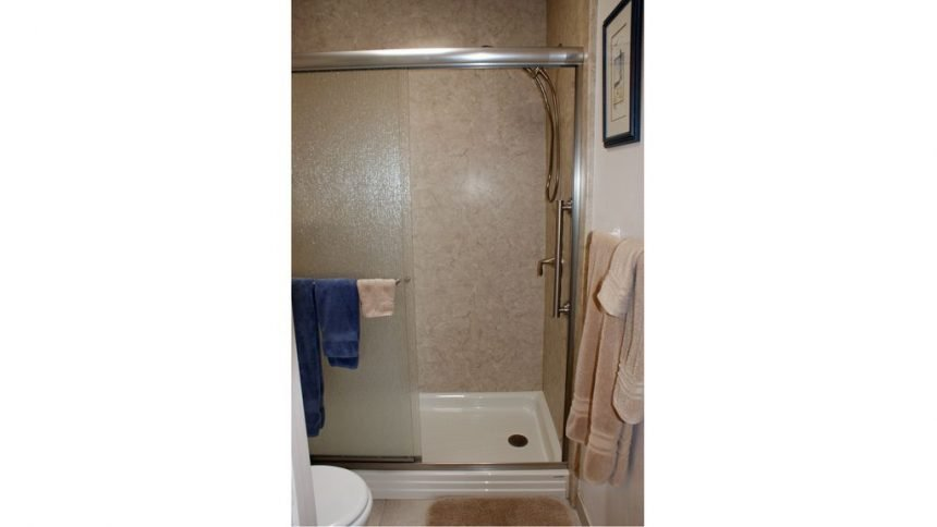 A-312 Walk in Master Shower