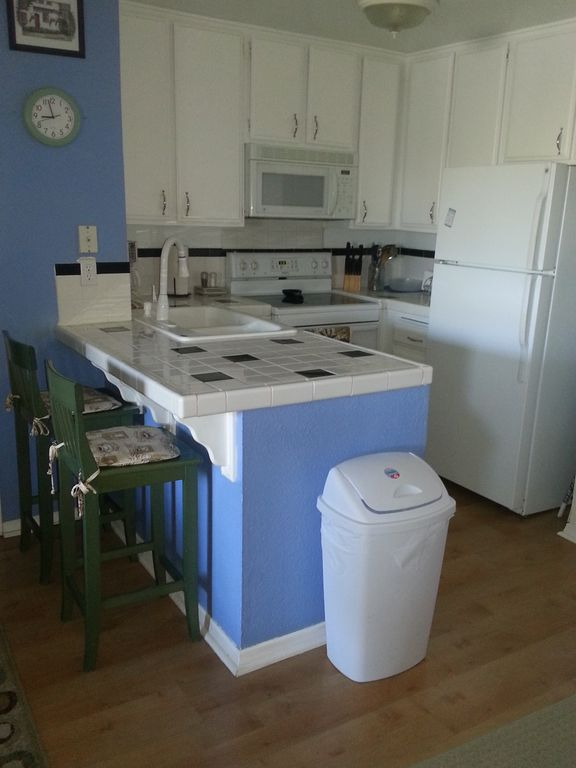 B-126 Blue kitchen