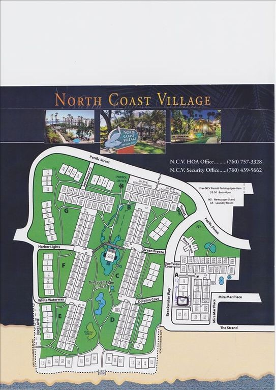 A-17 map of north coast village complex