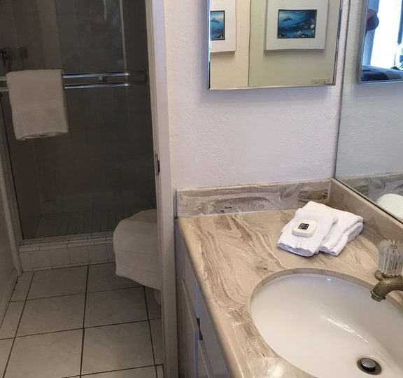 a201 vanity and bathroom