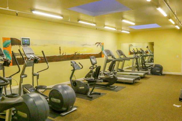 C-103 Cardio Equipment with ellipticals, treadmills and stationary bikes