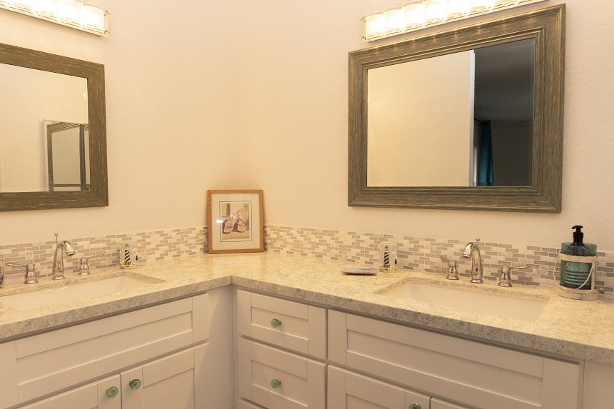 d305 master bathroom double vanity
